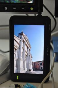 LCD-4300U縦置き